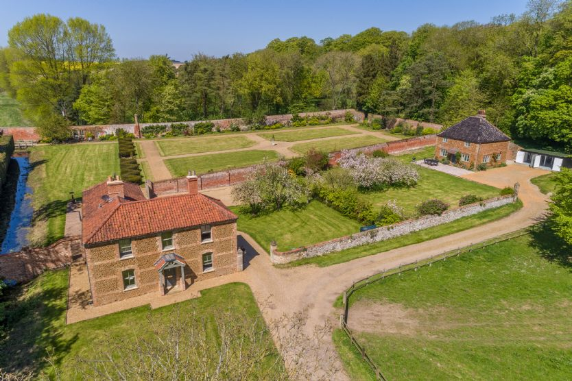 Dog Friendly Cottages Norfolk - Cottages in the Walled Gardens