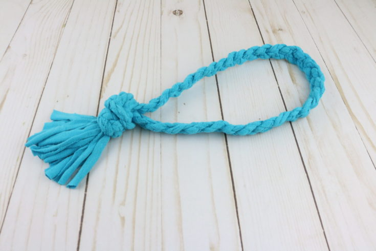 No-Sew T-Shirt Rope Dog Toy